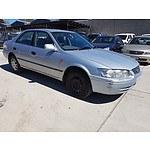 7/2000 Toyota Camry Conquest MCV20R 4d Sedan Silver 3.0L