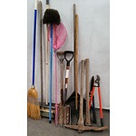 Assortment of Garden Tools