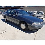 10/1990 Holden Commodore Executive VN 4d Sedan Grey 3.8L