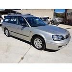 2/1999 Subaru Liberty GX (awd)  4d Wagon Silver 2.0L