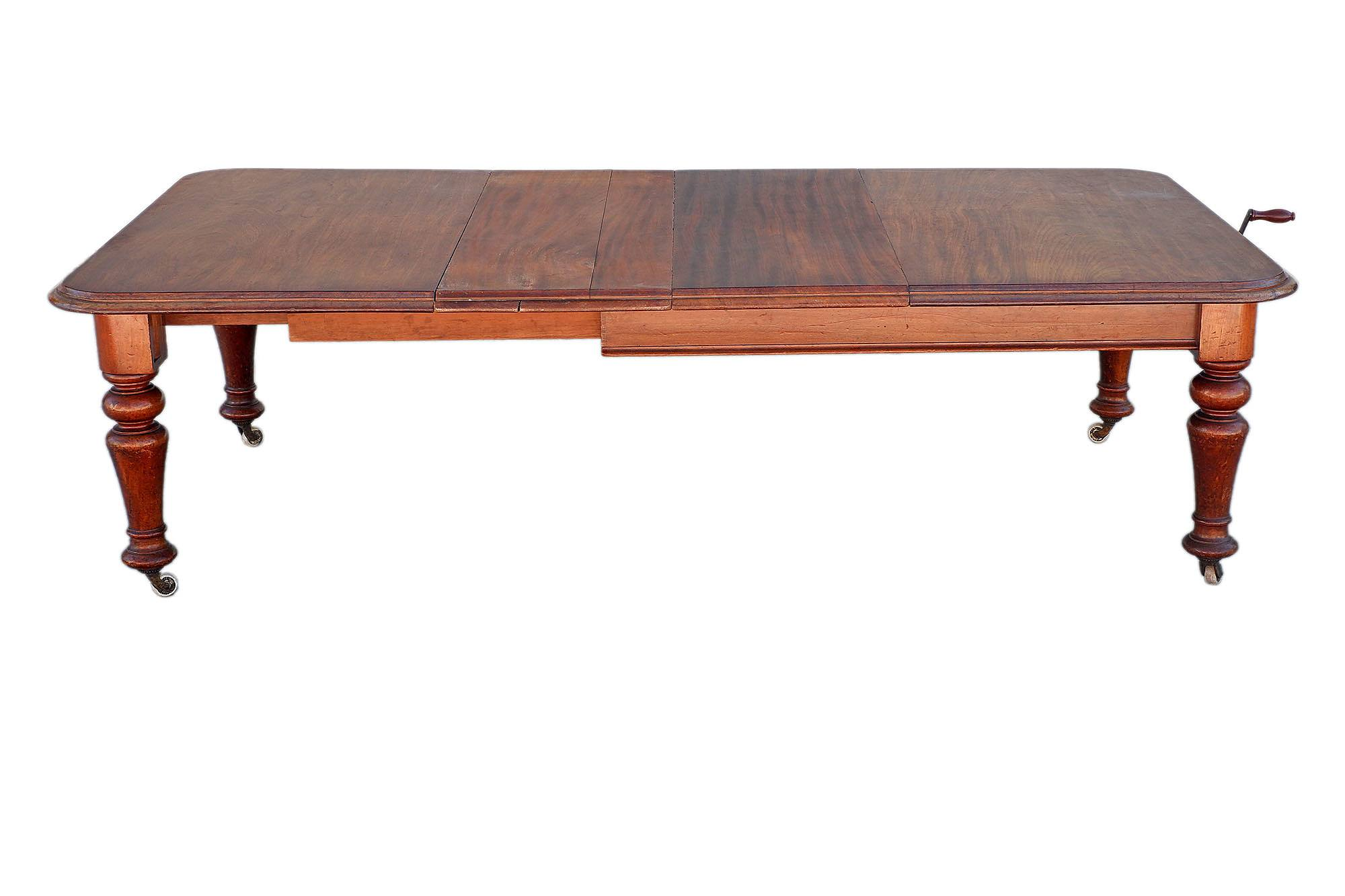 'Australian Cedar Extension Table Circa 1880'
