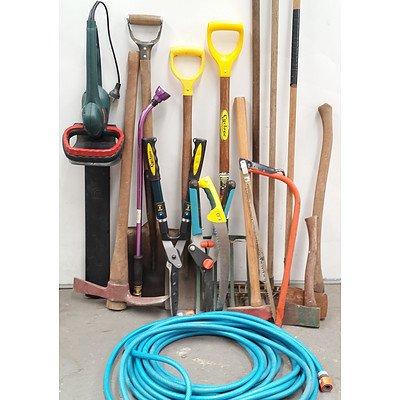 Lot of Garden Tools