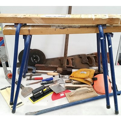Lot of Hand Tools