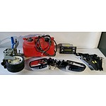 Mixed lot of Auto Parts and Accessories including pair of Review Mirrors, Boat Fuel Tank and More
