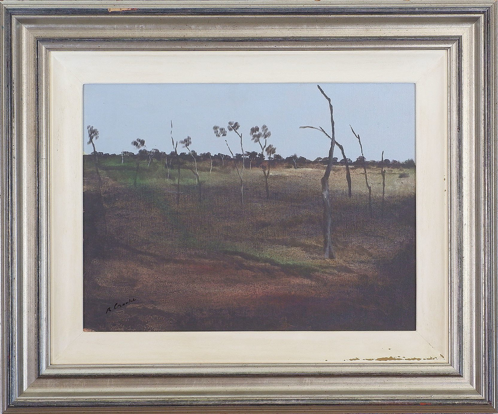 'Ray Crooke (1922-2015), Cape York, Acrylic on Canvas'