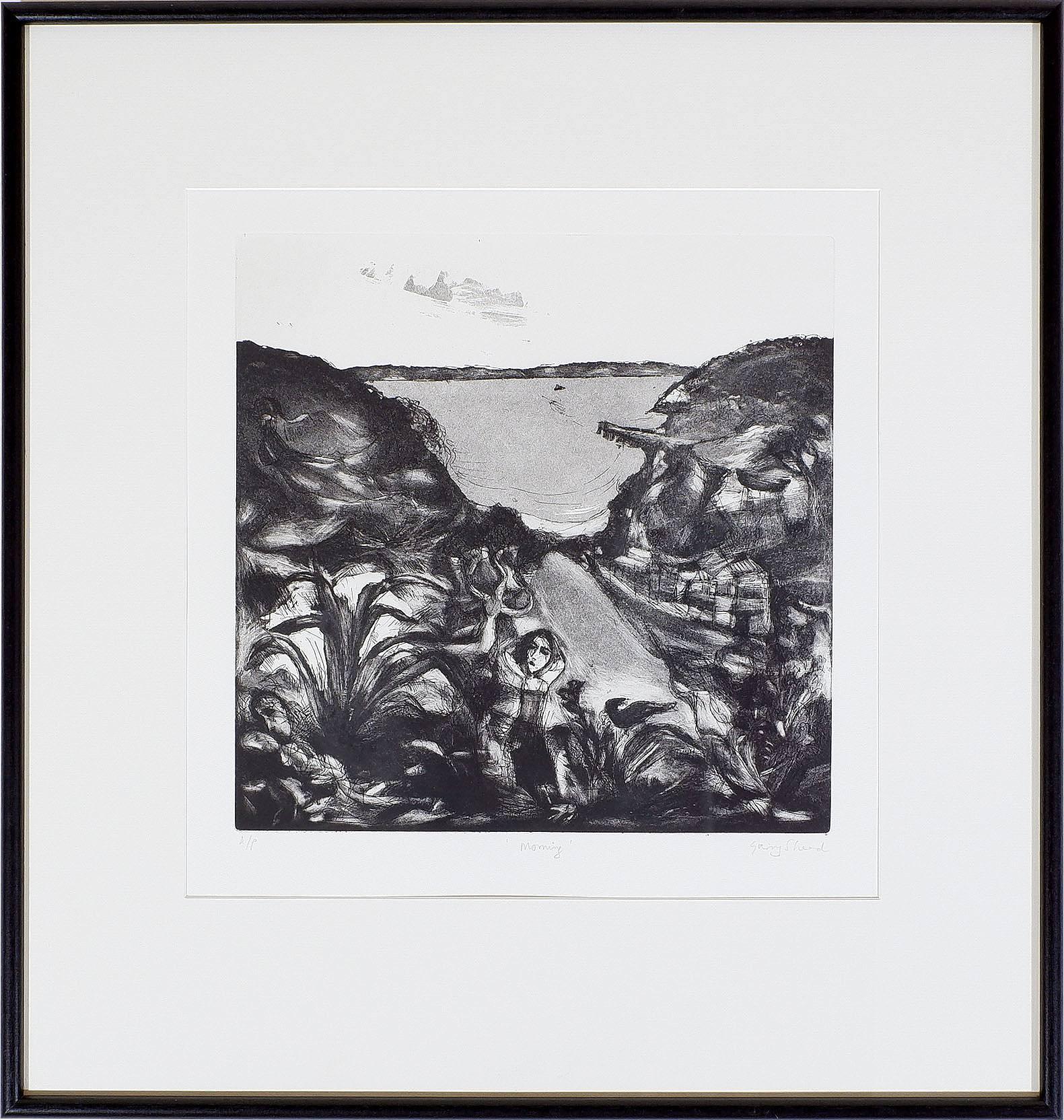 'Garry Shead (b. 1942) Morning, Artists Proof Etching'