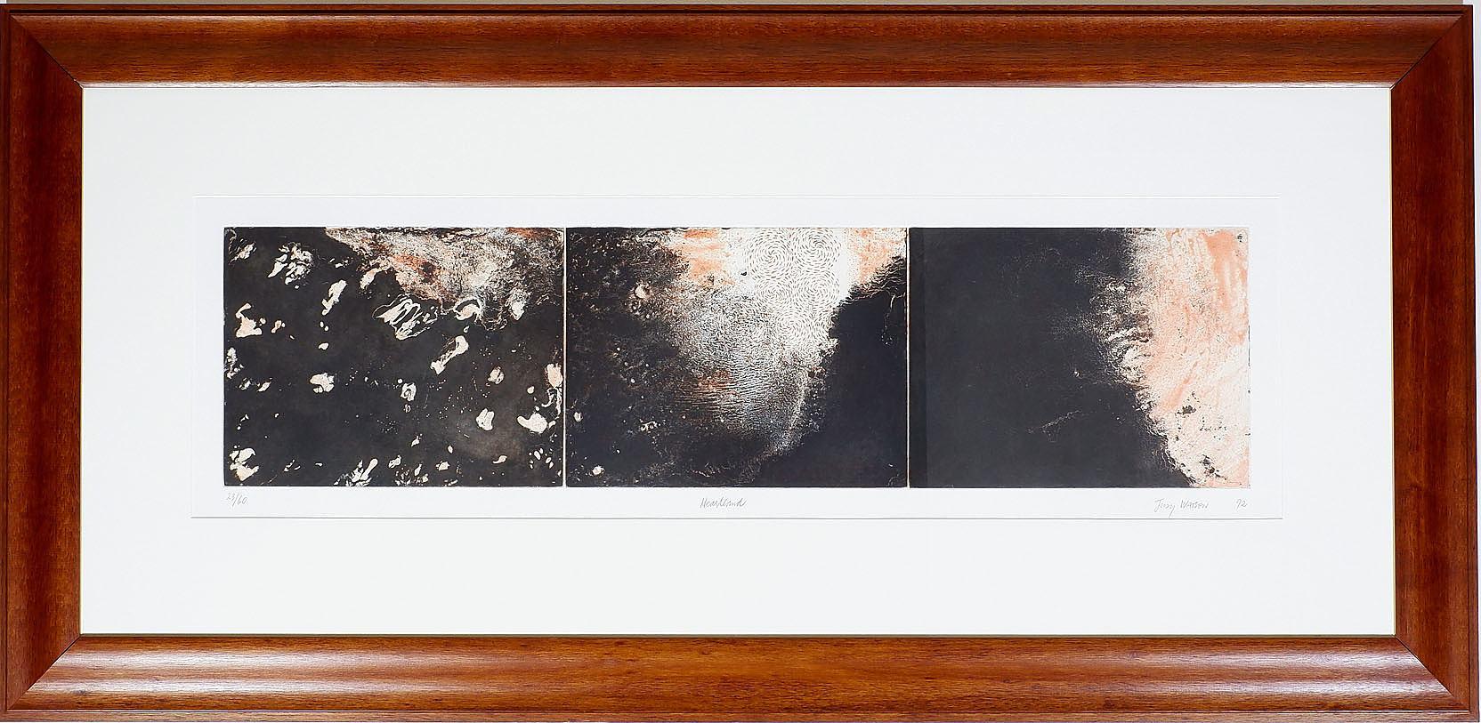 'Judy Watson (b. 1959) Partland, Triptych Tinted Etching Edition 23/60'