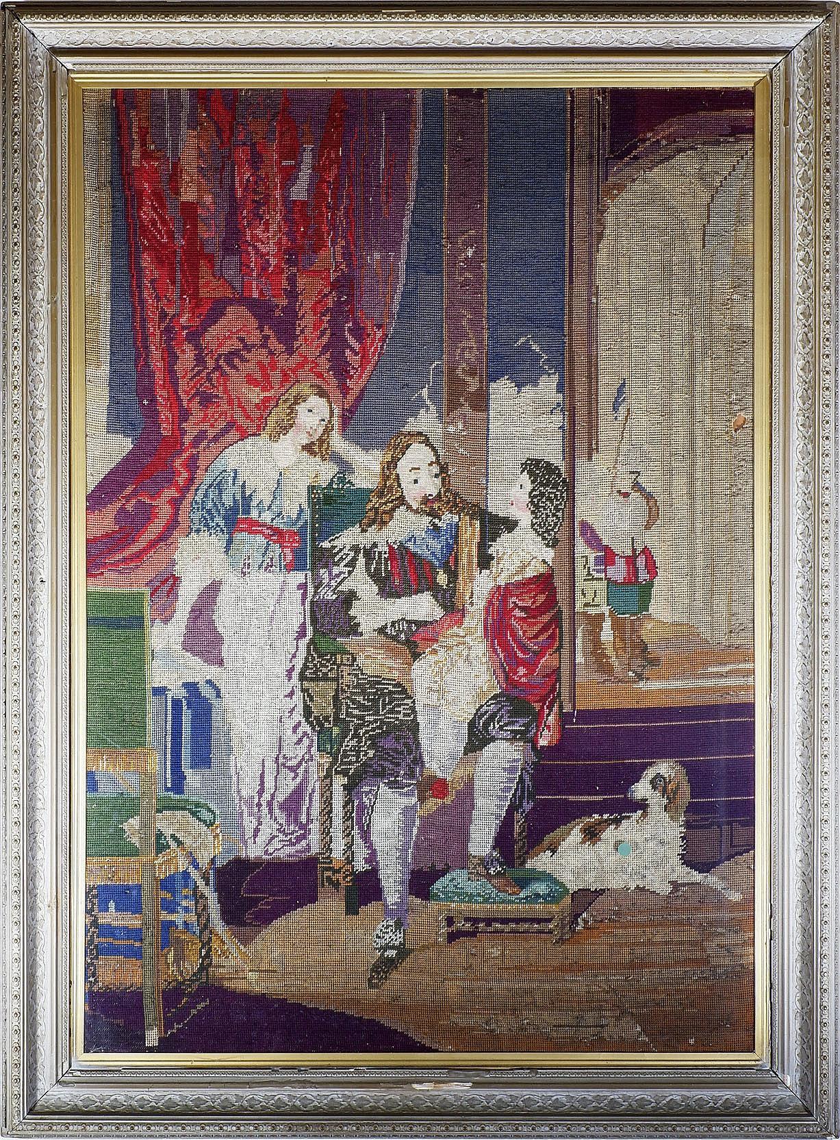 'Antique European Tapestry'