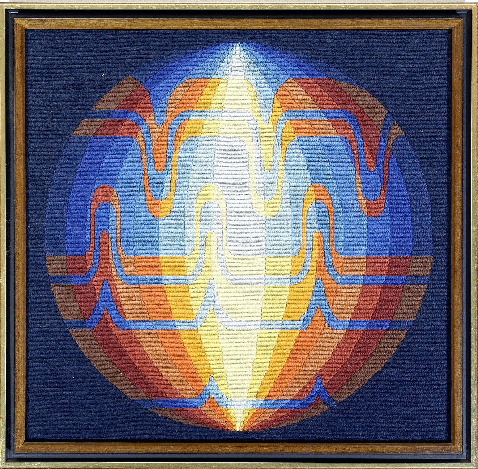 'After Danielle Gambard, Alpha 1979, Tapestry'