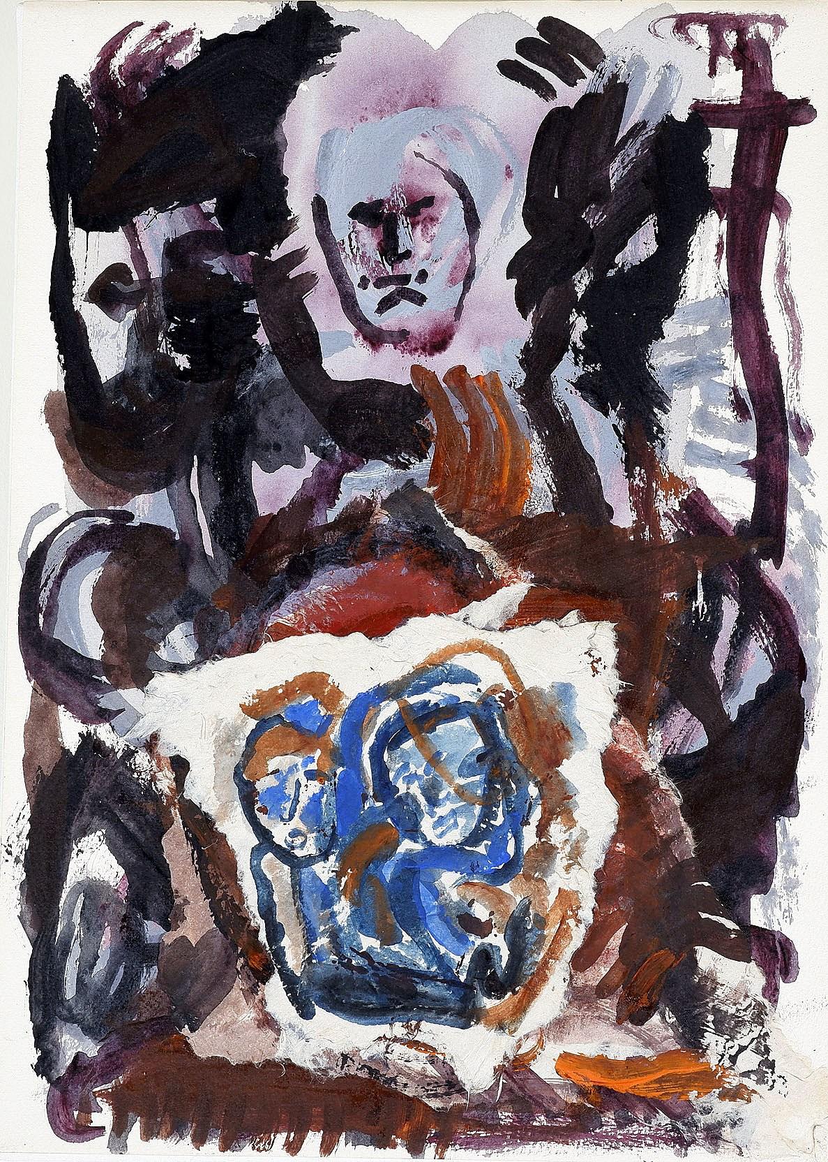 'Vivienne Dadour (b. 1953) Remnants #4 Paris 1996, Collage and Mixed Media'