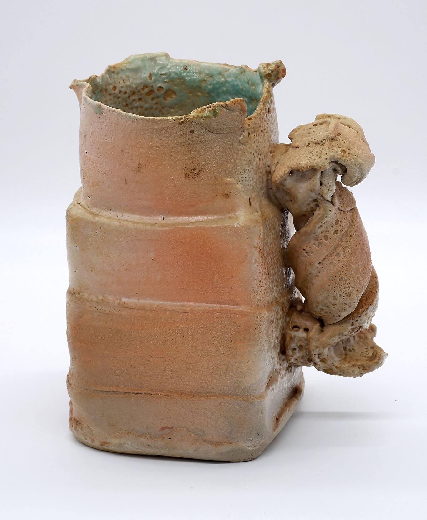 'Studio Pottery Ewer'