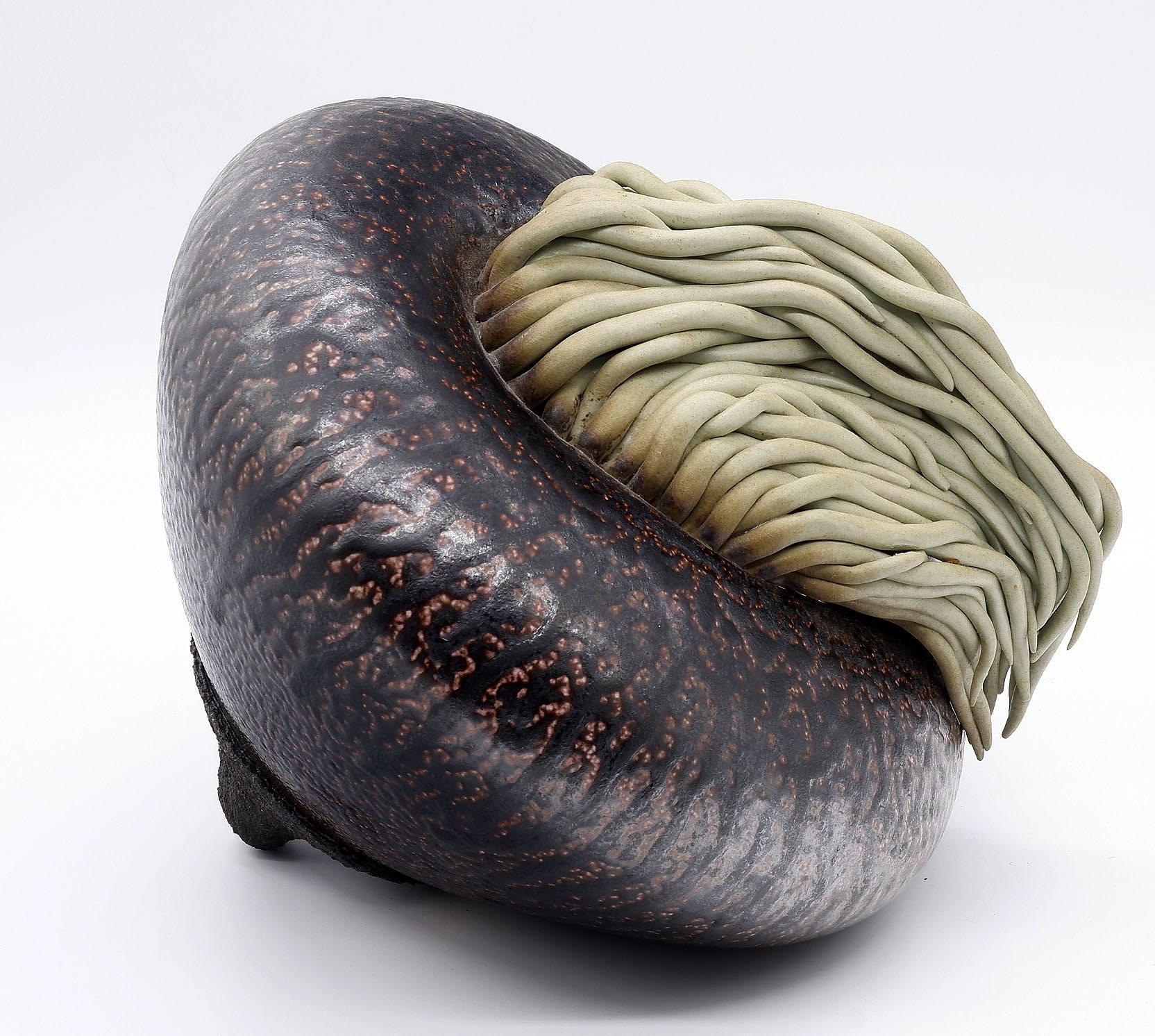 'Sea Creature, Glazed Stoneware'