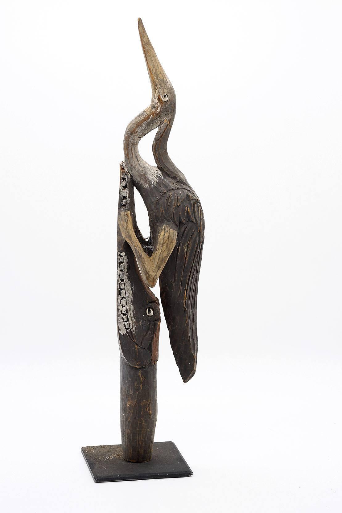 'Mounted New Guinea Finial'