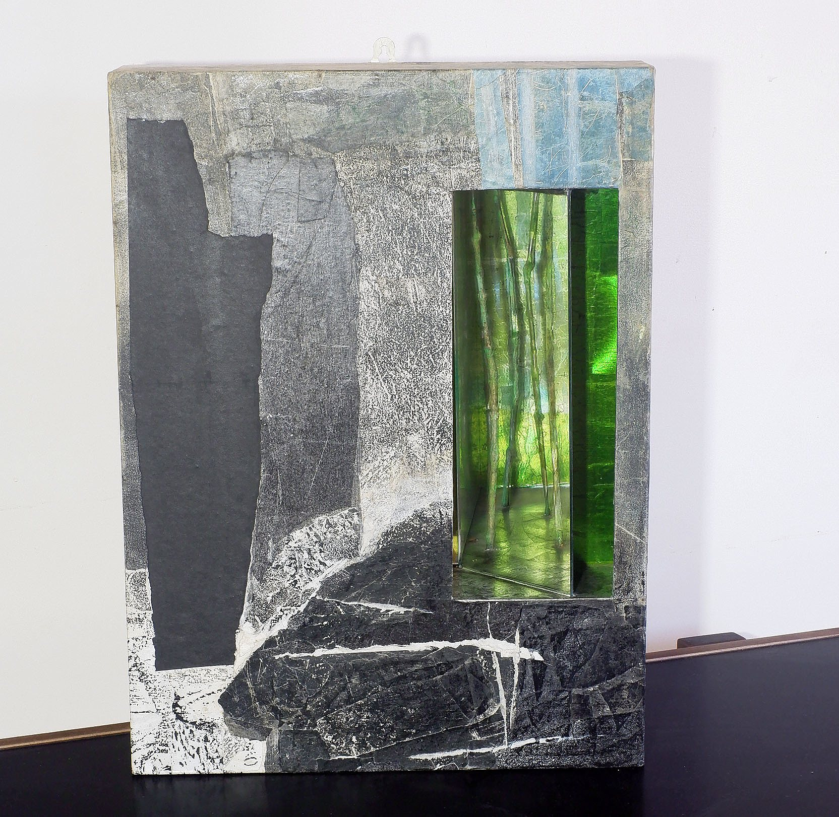'Mary Husted, Passing Through The Middle 1996, Assemblage'