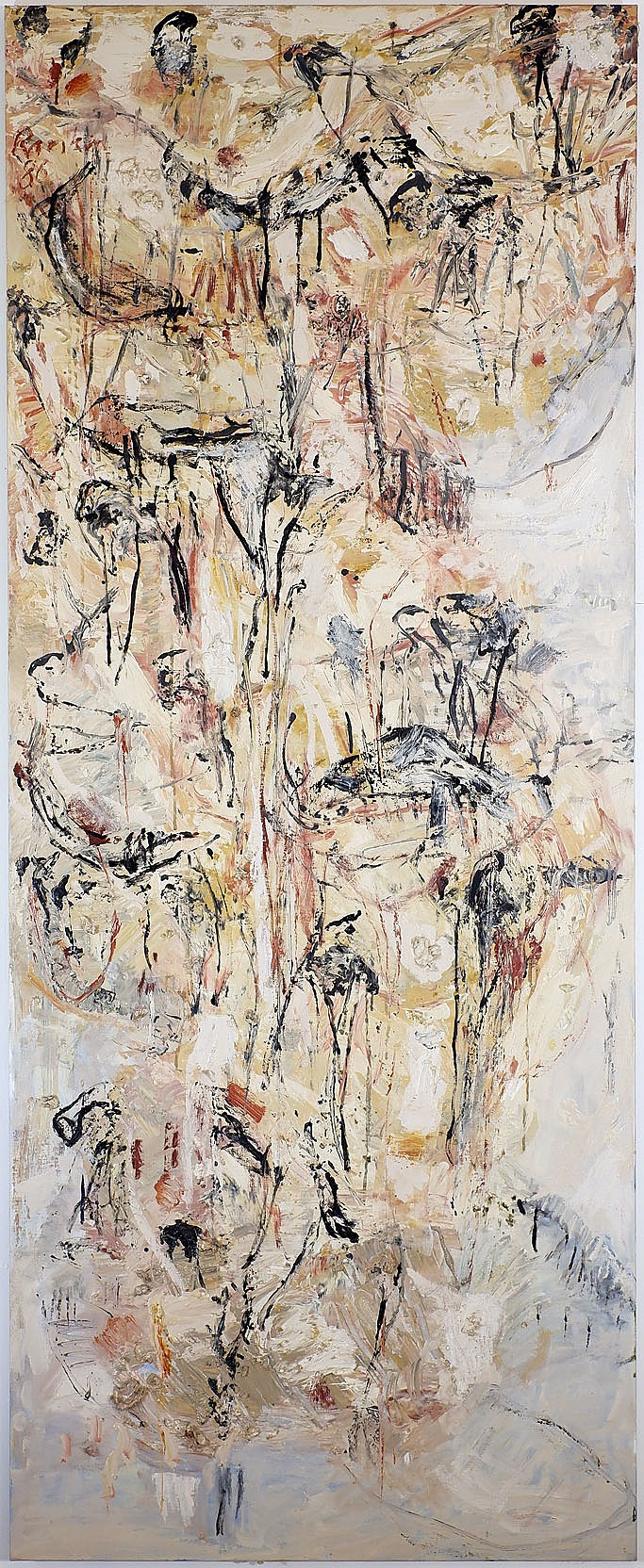 'David Rankin (b. 1946), Headland - Sandstone Coast, Oil on Canvas'