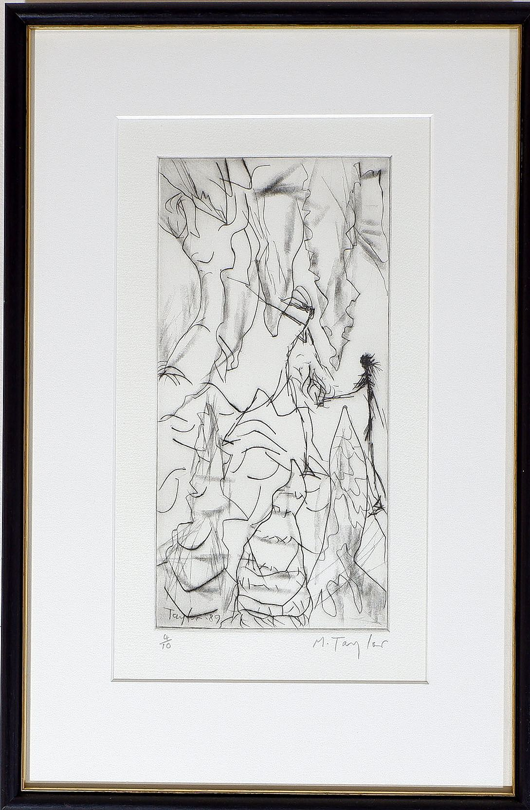 'Michael Franklin Taylor (b. 1933) Two Etchings'
