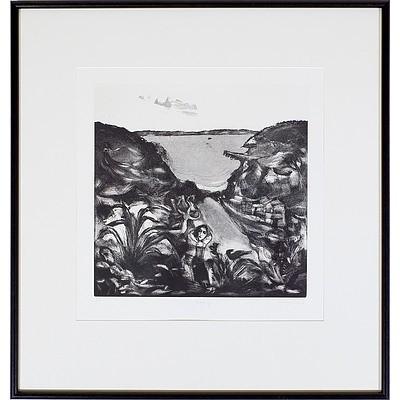 Garry Shead (b. 1942) Morning, Artists Proof Etching