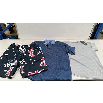 Bulk Lot of Brand New Men's Clothing