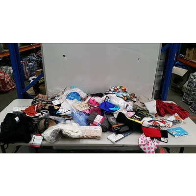 Bulk Lot of Brand New Mixed Clothing Items