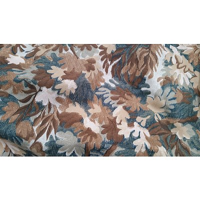 Set of 6 Floral Block Out Curtains