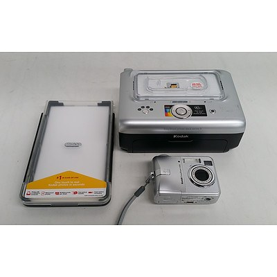 Kodak EasyShare C330 Camera & Kodak EasyShare Dock Series 3 Printer