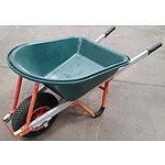Westmix 150L Green Bucket Wheelbarrow