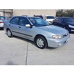 7/1999 Nissan Pulsar LX N15II 4d Sedan Silver 1.6L