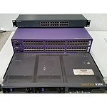 Sun MicroSystems SunFire V20z Dual AMD Opteron CPU 1RU Server & Three Managed Ethernet Switches