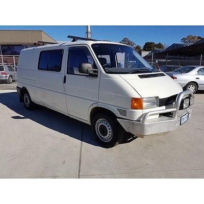 8/2000 Volkswagen Transporter  T4 Van White 2.5L