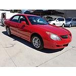 11/2003 Mitsubishi Magna LS TL 4d Sedan Red 3.5L