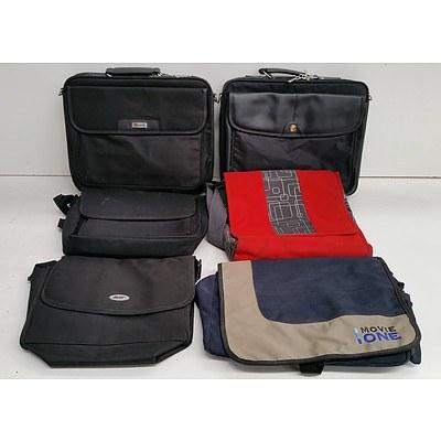 Bulk Lot of Assorted Laptop Carry Bags - Lot of Ten
