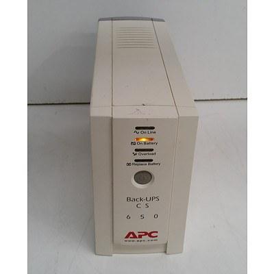 APC Back-UPS CS 650 650VA/400W Floorstanding UPS