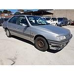 5/1995 Peugeot 405 SRI D70 4d Sedan Silver 2.0L