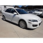 8/2006 Mazda Mazda6 MPS GG 4d Sedan White 2.3L