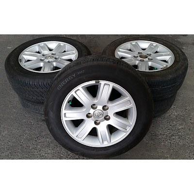 Set of 5 Ford 16inch Rims with Tyres