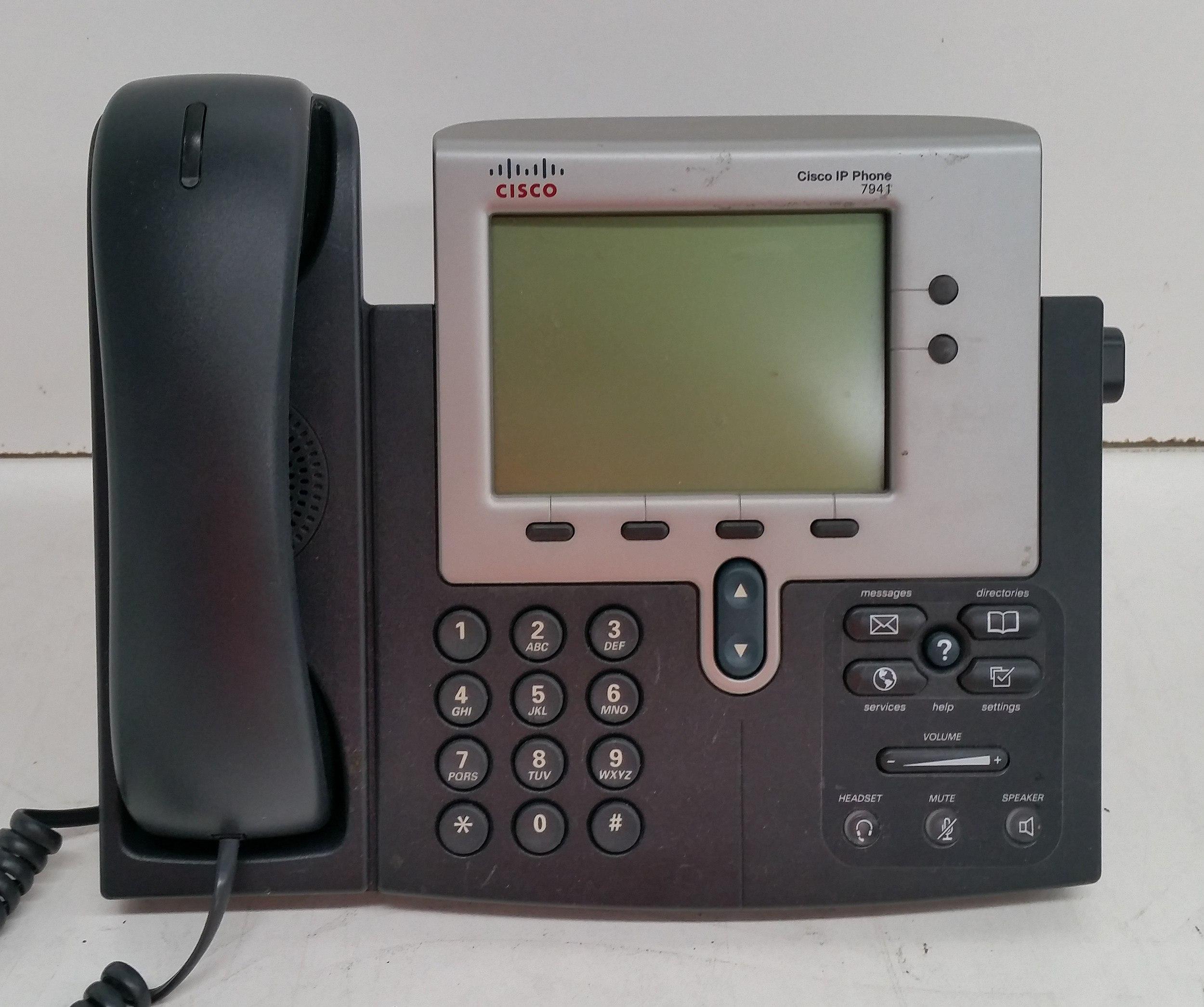 Cisco IP Phone 7941/7940/7942/7961 Series Office Phones - Lot of 110