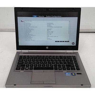 Hp EliteBook 8460p 14.1 Inch Widescreen Core i5 -2540M 2.6GHz Laptop