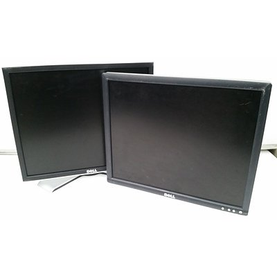 Dell 19 inch LCD Monitors - Lot of 21