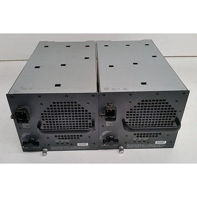 Cisco Catalyst 6500 Series Network Chassis 2500W Power Supply - Lot of Two