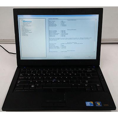 Dell Latitude E4310 13.3 Inch Widescreen Core i3 -370M 2.40GHz Laptop
