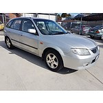 6/2001 Mazda 323 Astina  5d Hatchback Silver 1.8L