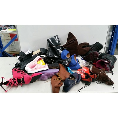 Bulk Lot of Brand New Women's Shoes - RRP $300