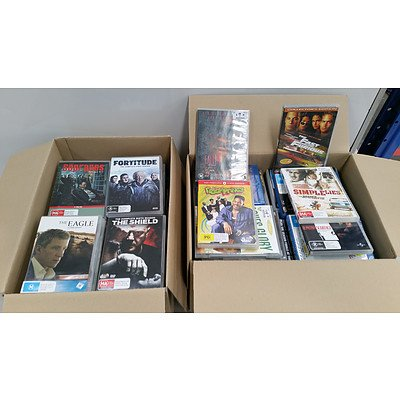 Bulk Lot of DVDs