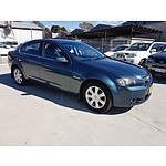 11/2008 Holden Berlina  VE MY09 4d Sedan Blue 3.6L