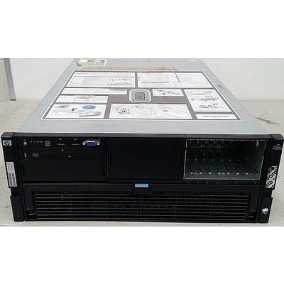 Hp Proliant DL580 G5 Quad Quad-Core Xeon E7440 2.4GHz 4 RU Server
