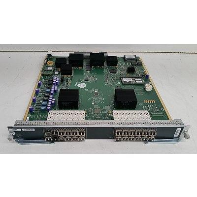 Cisco 1/2/4 Gbps 24-Port Fibre Channel & Cisco Fab 2 Switch Fabric Module - Lot of Five