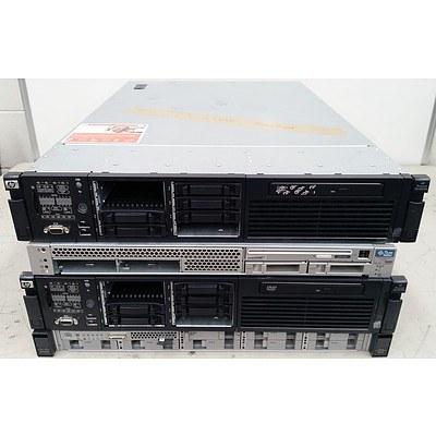 Sun, Cisco & Hp Servers - Lot of 4