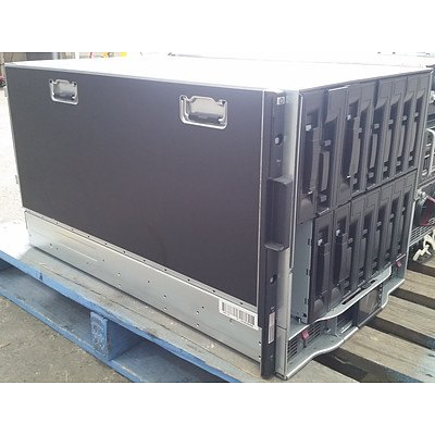 HP BladeSystem C7000 9RU Blade Server Chassis