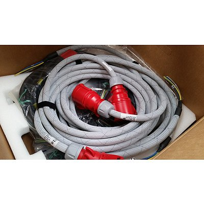 EMC 32Amp 3-Phase Power Kits - Lot of 2 - Brand New
