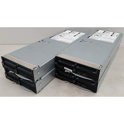 Hp Proliant BL460c G6 Quad Xeon L5520 2.27GHz Blade Servers - Lot of 4